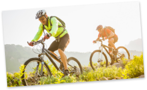 Sportunfallprävention beim Mountainbiken